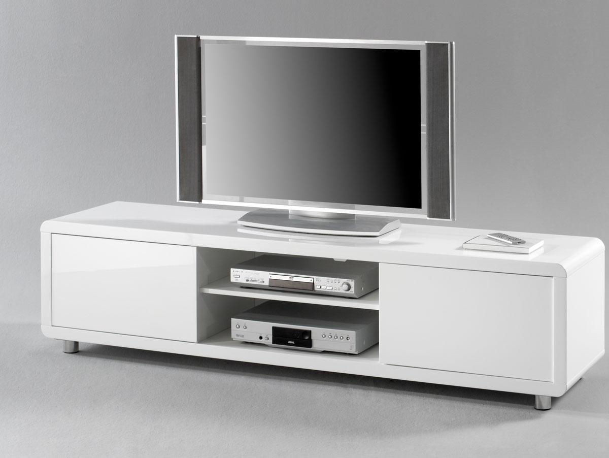 ASTRO IV TVRack TVSchrank Fernsehschrank Lowboard Weiß  ~ Tv Schrank Ebay