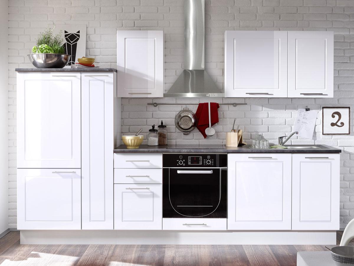 Küchen Weiß Hochglanz