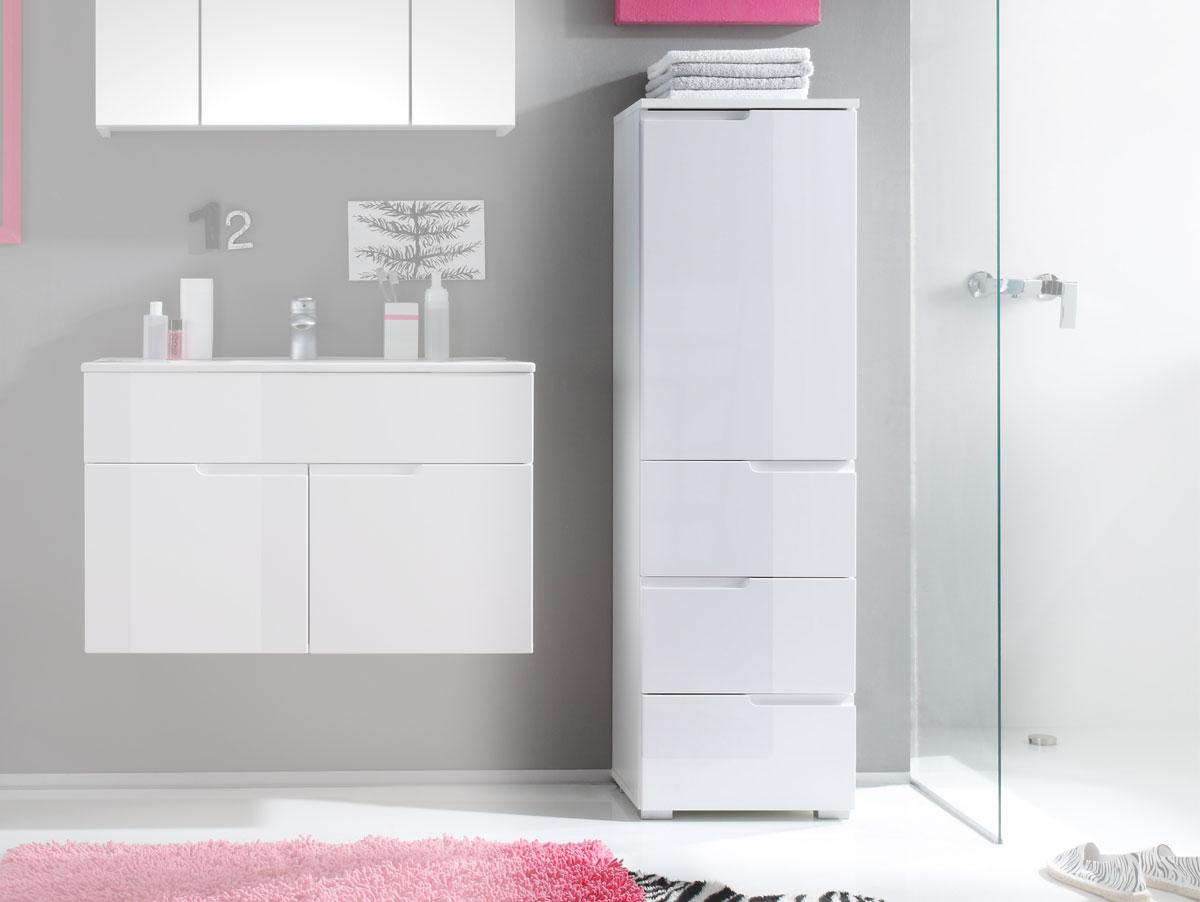 Sandra badezimmer hoch kommode badm bel hochschrank for Komplette badezimmer angebote