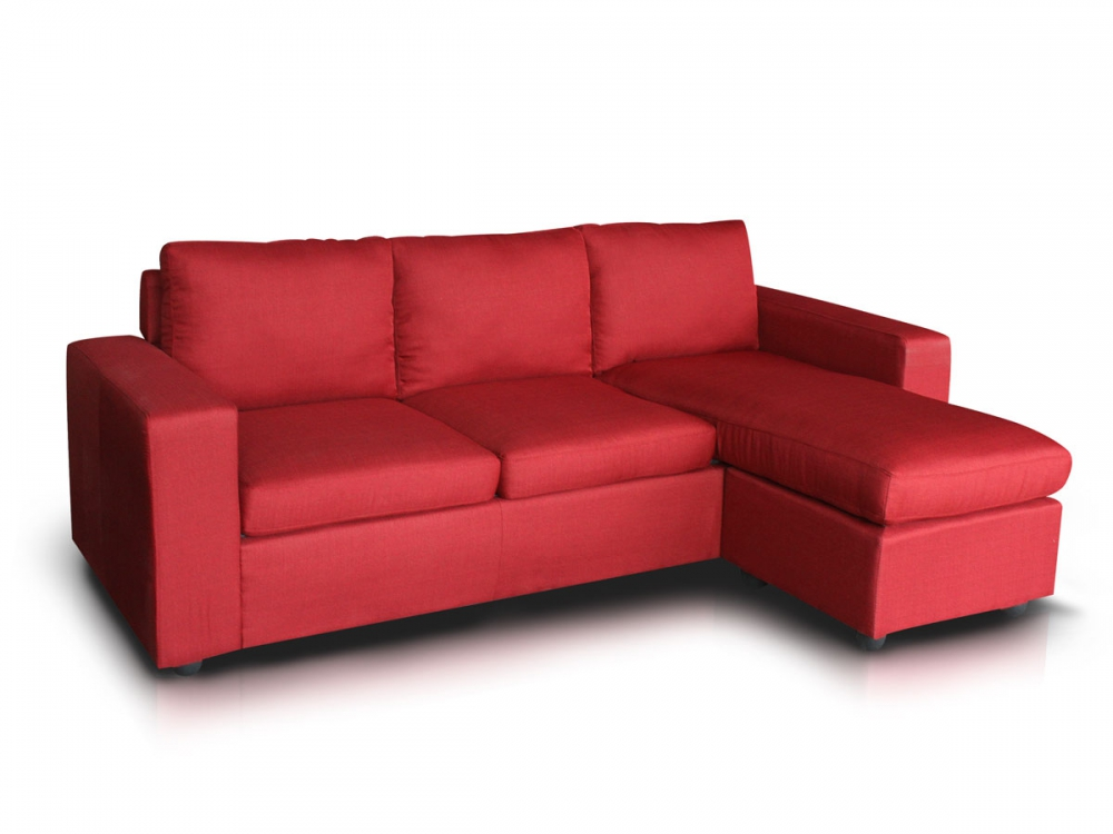 sofa chilly ecksofa polstersofa couch eckcouch stoffbezug bezugsstoff rot b2 05m ebay. Black Bedroom Furniture Sets. Home Design Ideas