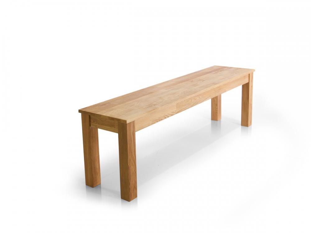 dalian sitzbank massive bank holz holzbank massiv eiche ge lt 140x34 massivholz ebay. Black Bedroom Furniture Sets. Home Design Ideas