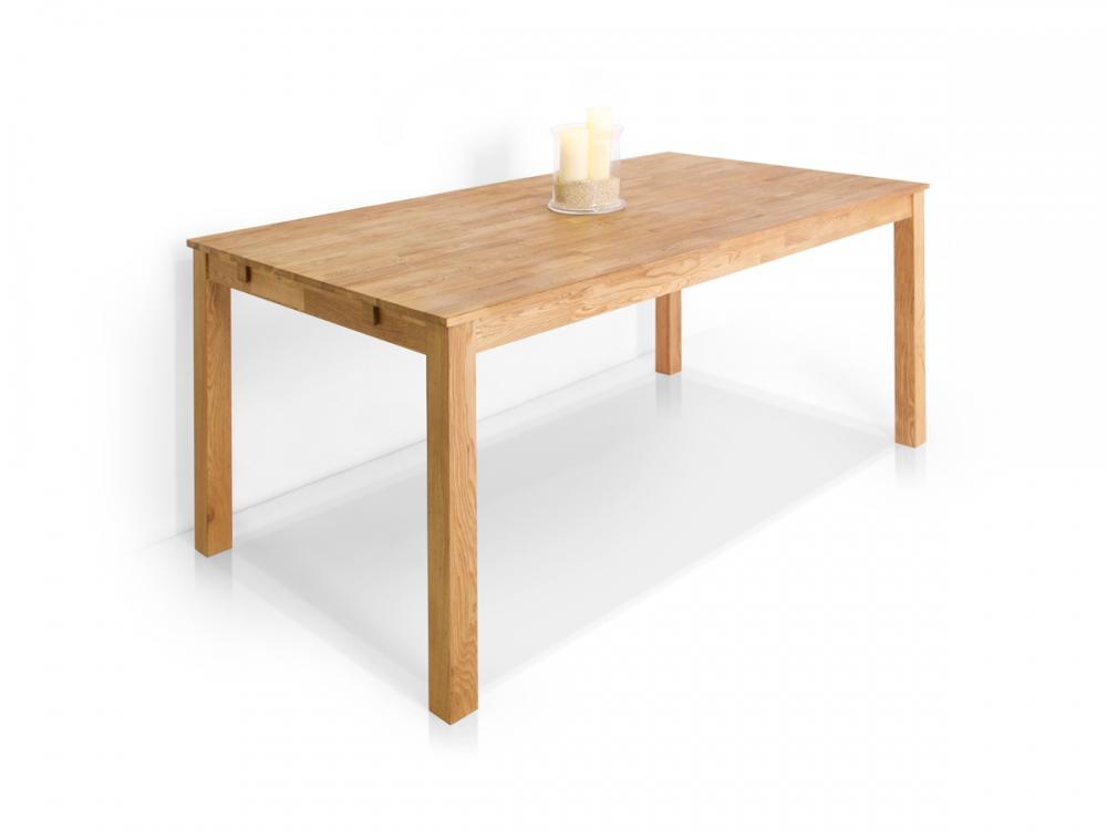 eiche esstisch tisch 160x90 dalian massivholztisch massiver holztisch eichetisch. Black Bedroom Furniture Sets. Home Design Ideas