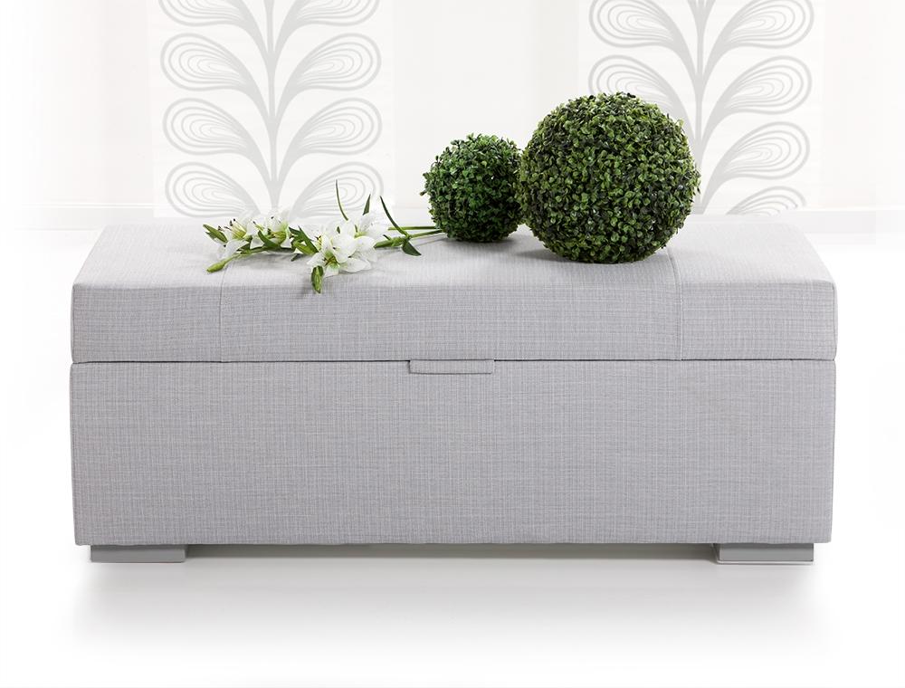 luxus w schetruhe sitzbank bank bettbank truhe webstoff. Black Bedroom Furniture Sets. Home Design Ideas