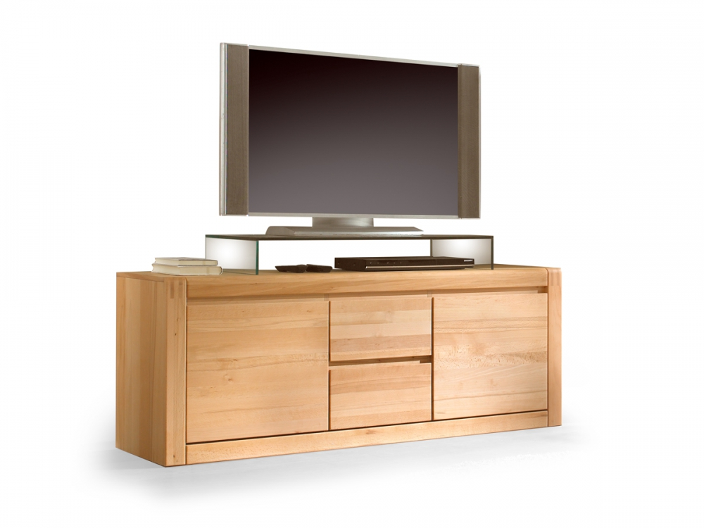 pablo tv unterteil tv unterschrank schrank regal kernbuche massivholz furniert. Black Bedroom Furniture Sets. Home Design Ideas