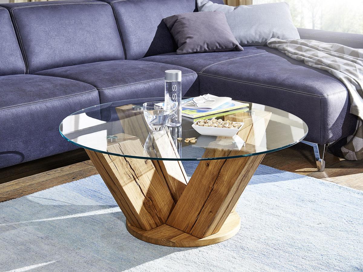 Designer glas couchtisch beistelltisch wohnzimmer tisch for Designer couchtisch wildeiche