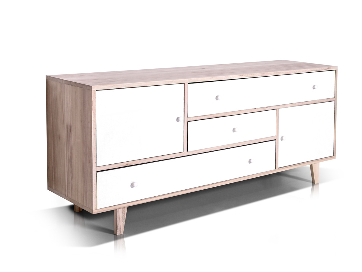 FLORENZ VII Sideboard Kommode Highboard Regal Schrank MDF