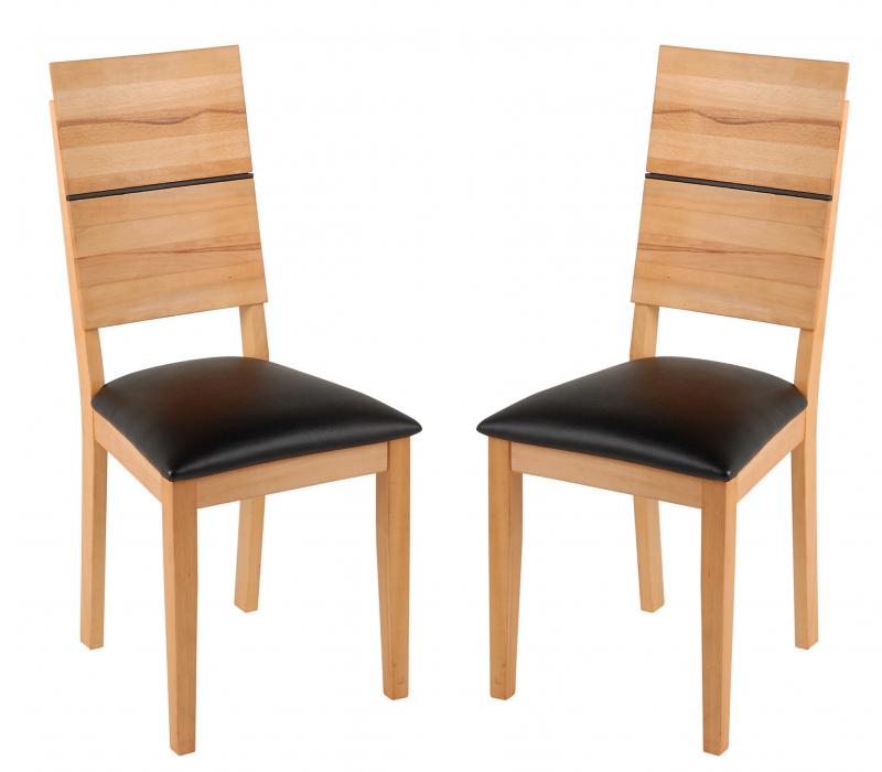 2er set holzstuhl massivholzstuhl stuhl hugo for Design stuhl hugo