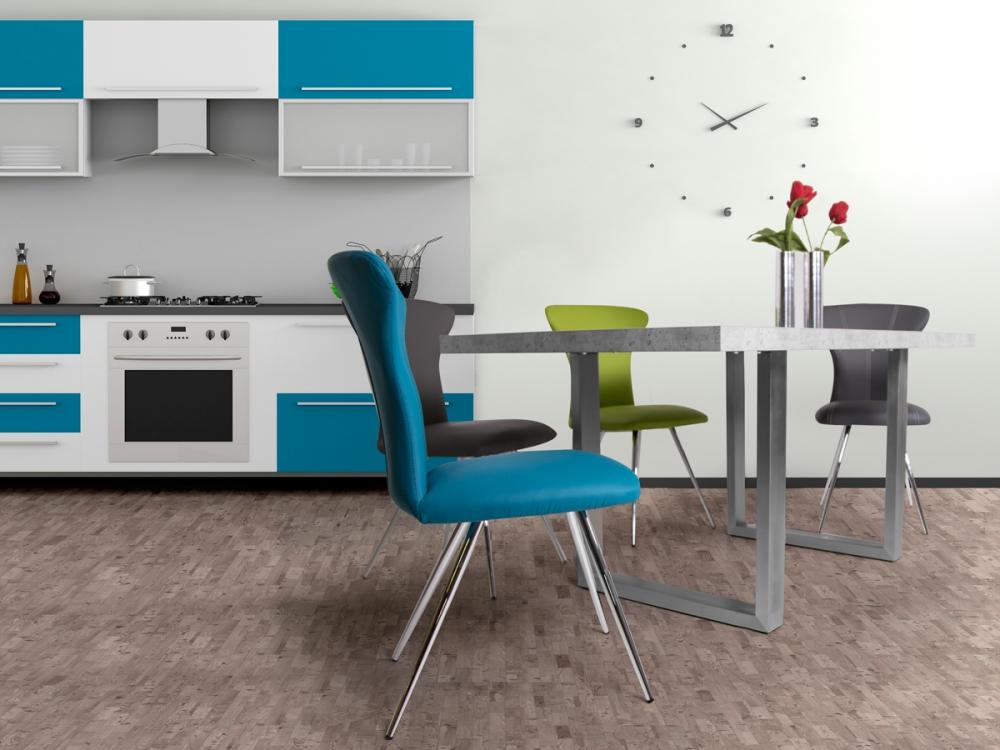 LUKAS Tisch Esstisch Küchentisch Tischplatte MDF Dekor Beton ...
