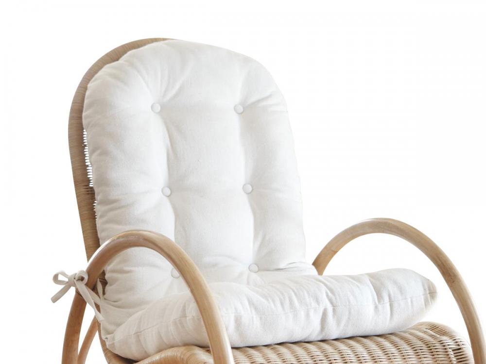 Gartenmobel Polyrattan Sofa : SWING Polsterauflage Auflage Polster für Schaukelstuhl Zubehör Farbe [R