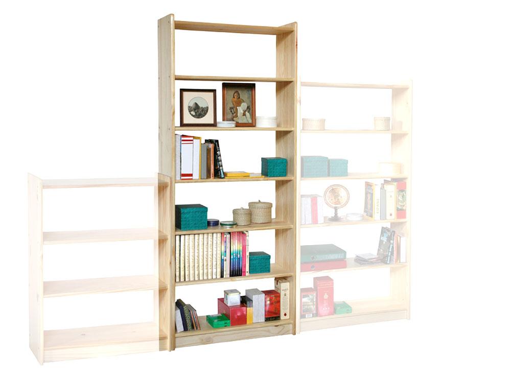 kelly offenes regal raumteiler mit 6 b den 80x200x30. Black Bedroom Furniture Sets. Home Design Ideas