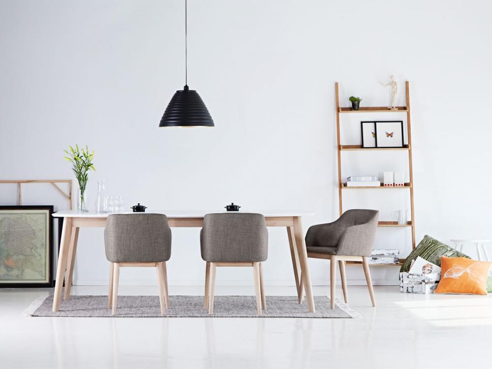 CANDEL Designerstuhl mit Schalensitz Stuhl Sessel