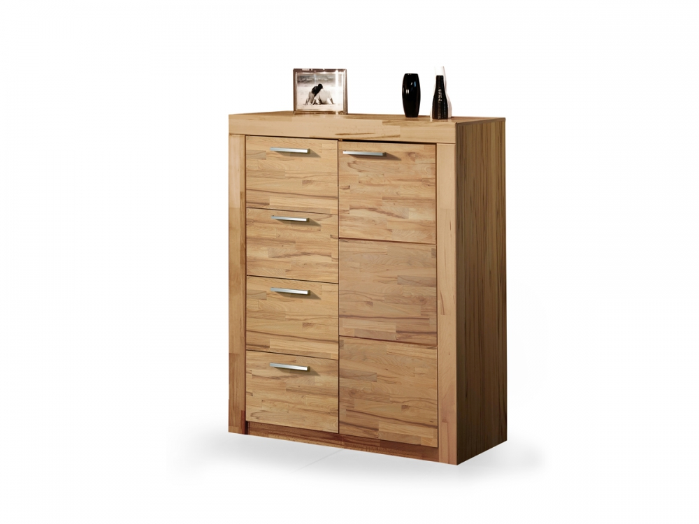 milla kommode sideboard wohnzimmer schrank kernbuche. Black Bedroom Furniture Sets. Home Design Ideas