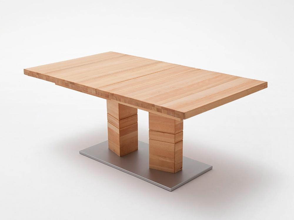 Calvaro esstisch massivholztisch esszimmertisch tisch for Kernbuche tisch