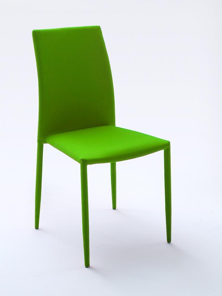 MIA stapelbarer Stuhl Esstischstuhl Polsterstuhl