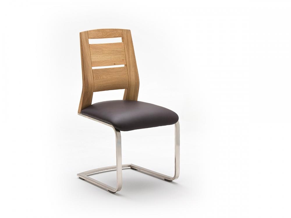 perry freischwinger schwingstuhl stuhl sessel esszimmerstuhl kernbuche echtleder ebay. Black Bedroom Furniture Sets. Home Design Ideas