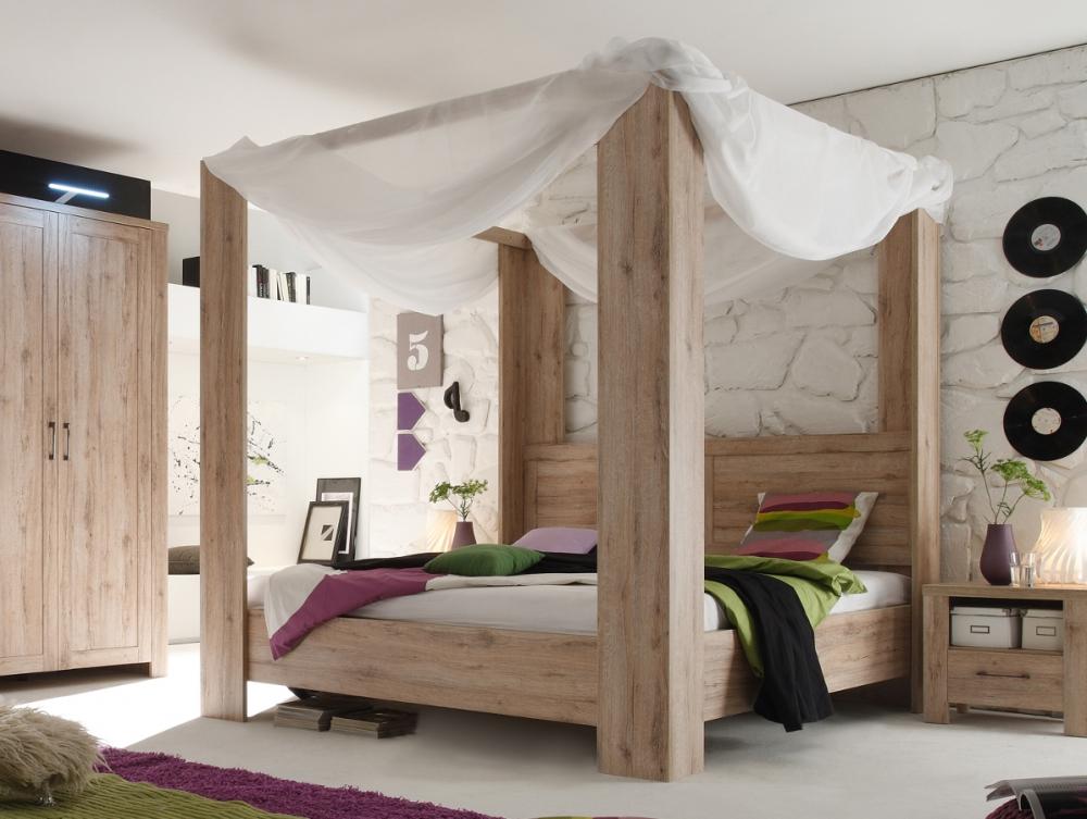 schlafzimmer komplett mit himmelbett – schlafzimmer : house und, Hause deko
