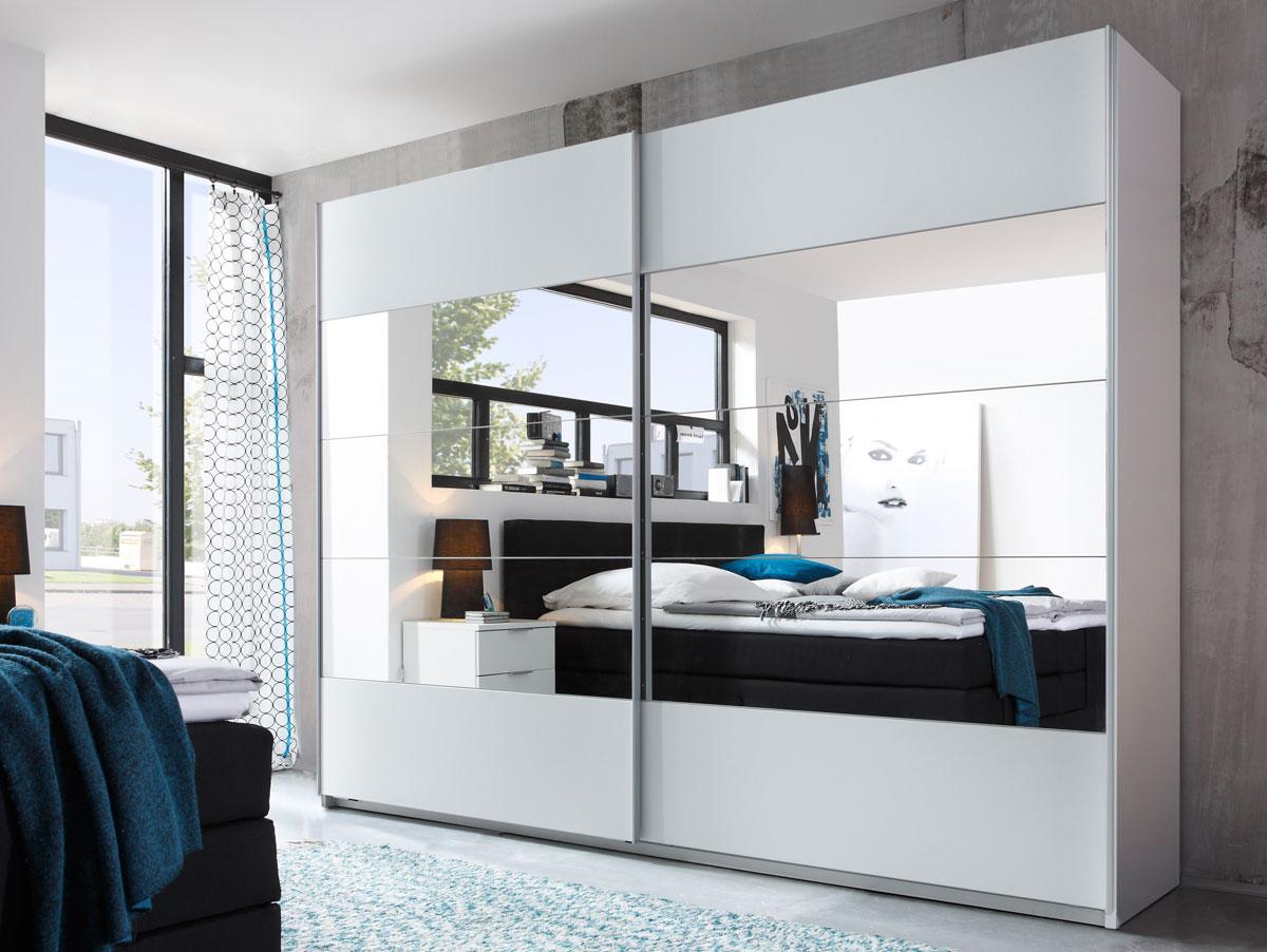 Schwebetürenschrank spiegel österreich  PARIS Schwebetürenschrank Schlafzimmer Kleiderschrank Schrank B270 ...