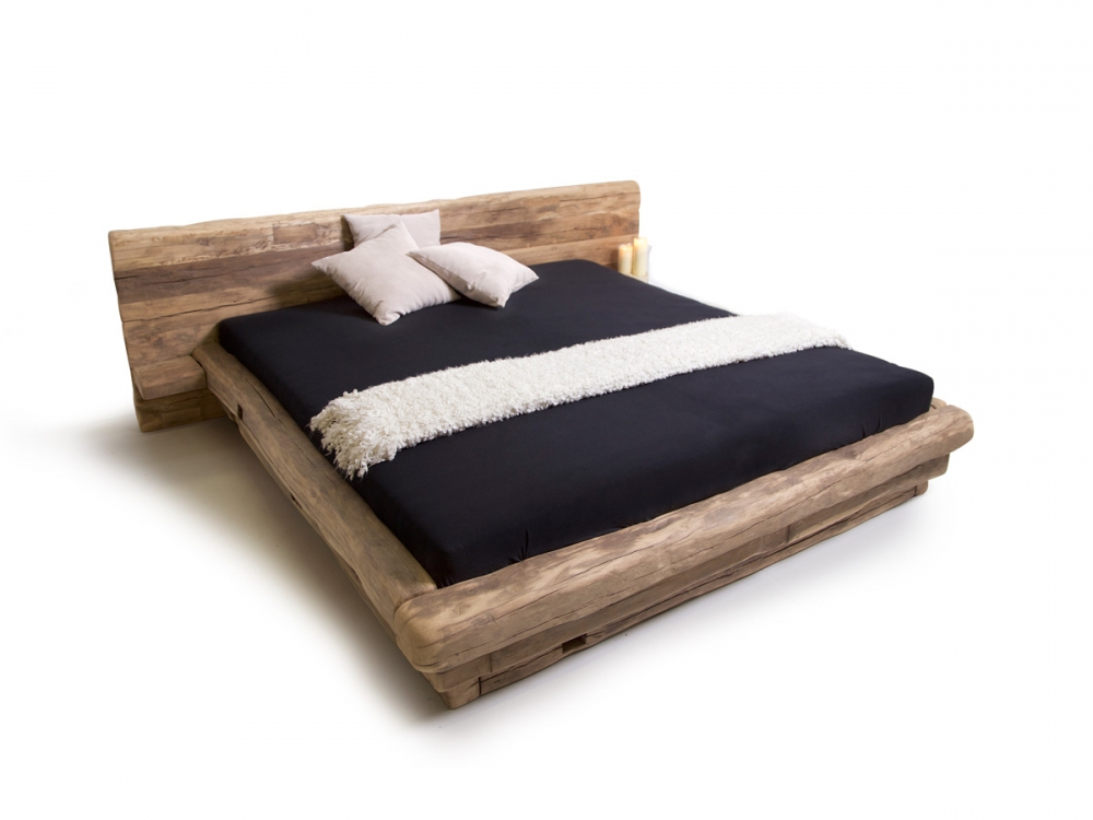 massivholzbett doppelbett holzbett futonbett wikinger bett. Black Bedroom Furniture Sets. Home Design Ideas