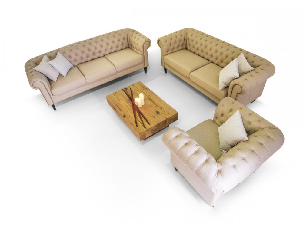 3 2 1 sofagarnitur santos polstersofa couch sessel. Black Bedroom Furniture Sets. Home Design Ideas