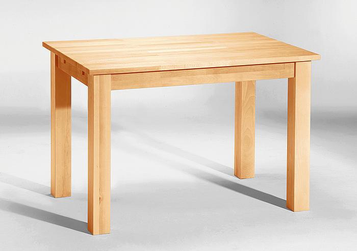 ludwig tisch buche massiv massivholz lackiert 110x70 cm esstisch massivholztisch ebay
