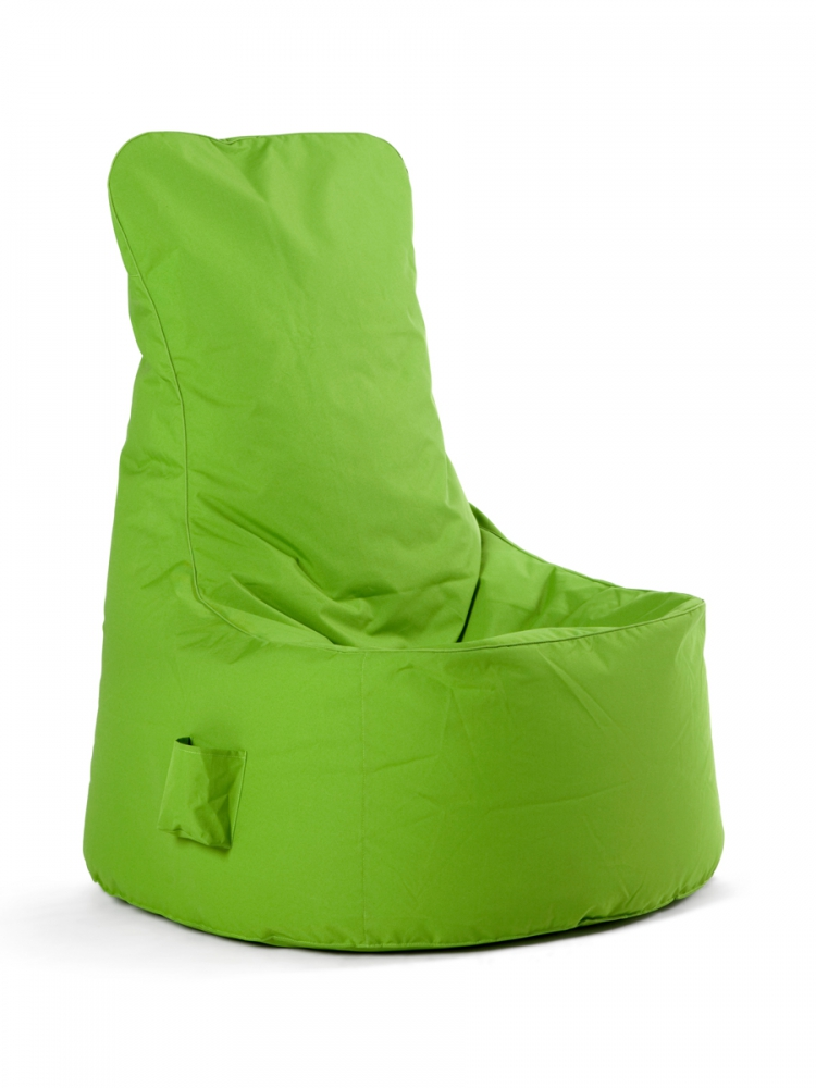 chill seat sitzsack by sitting bull 200 liter bezug waschbar soft seating gr n. Black Bedroom Furniture Sets. Home Design Ideas
