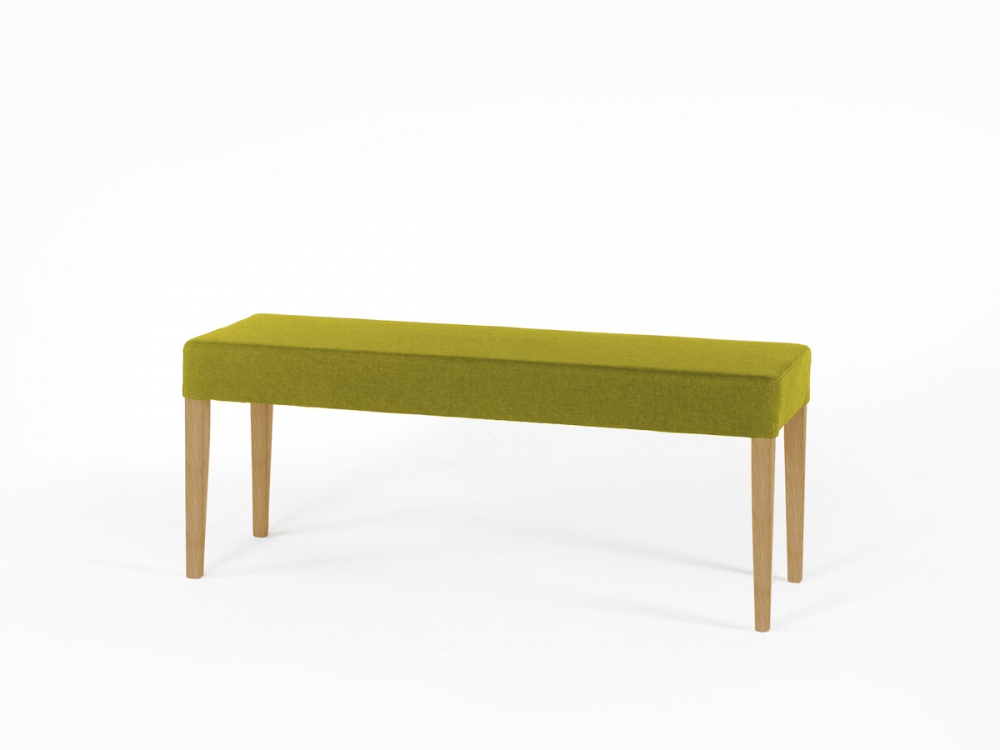 elli bequeme sitzbank bank ohne r cken stoffbezug polster. Black Bedroom Furniture Sets. Home Design Ideas