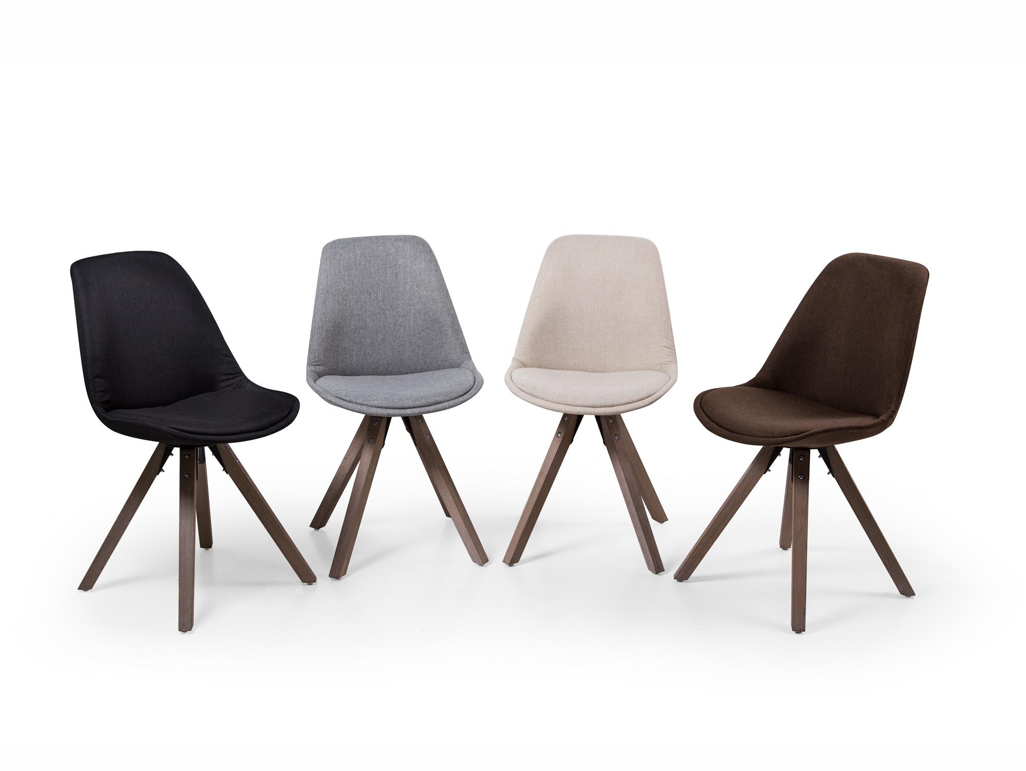 PITU Designerstuhl mit Schalensitz Stuhl Sessel Industrial