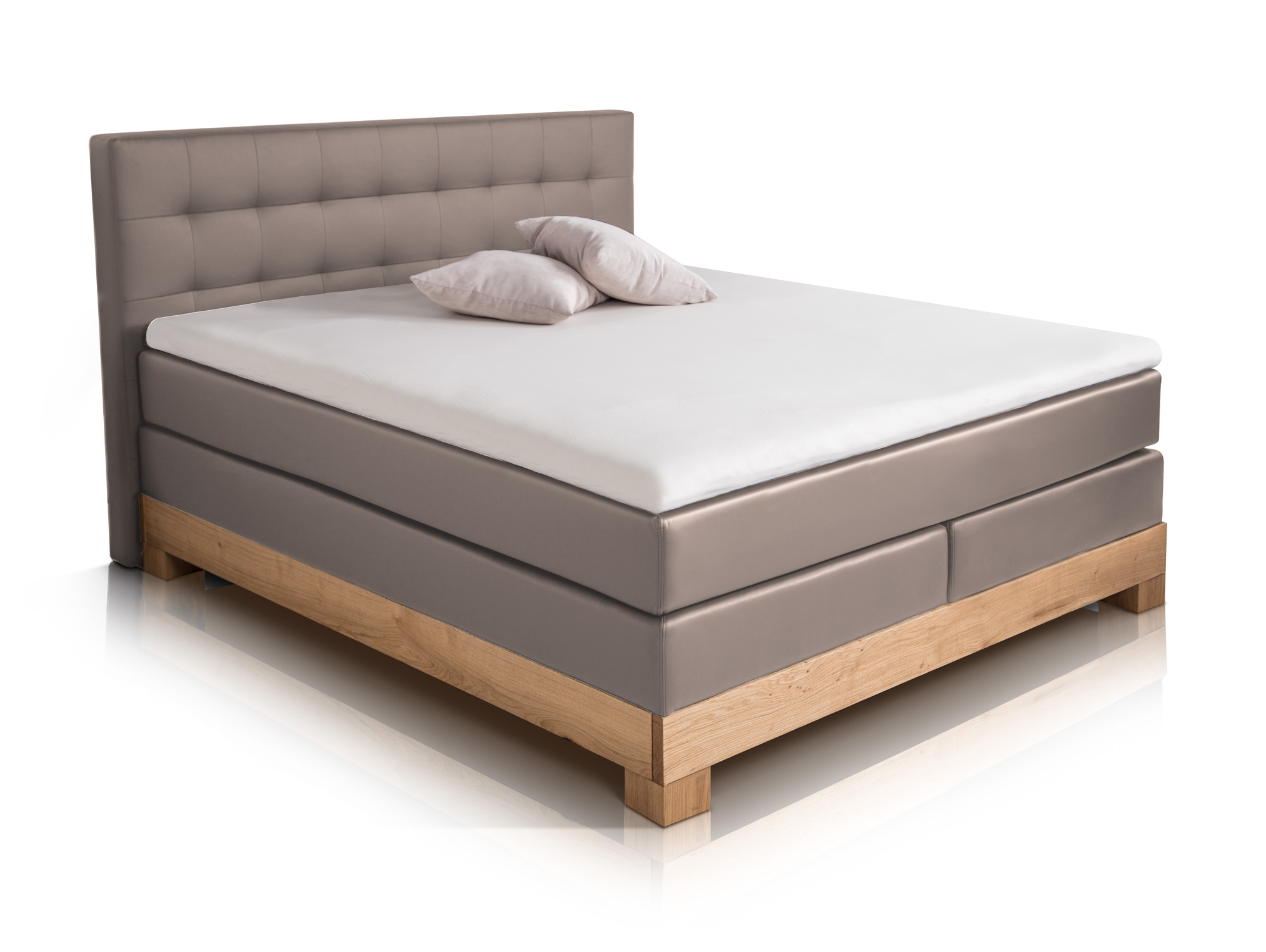 arche boxspringbett doppelbett boxspring bett boxbett 160x200 h2 h3 muddy buche ebay. Black Bedroom Furniture Sets. Home Design Ideas