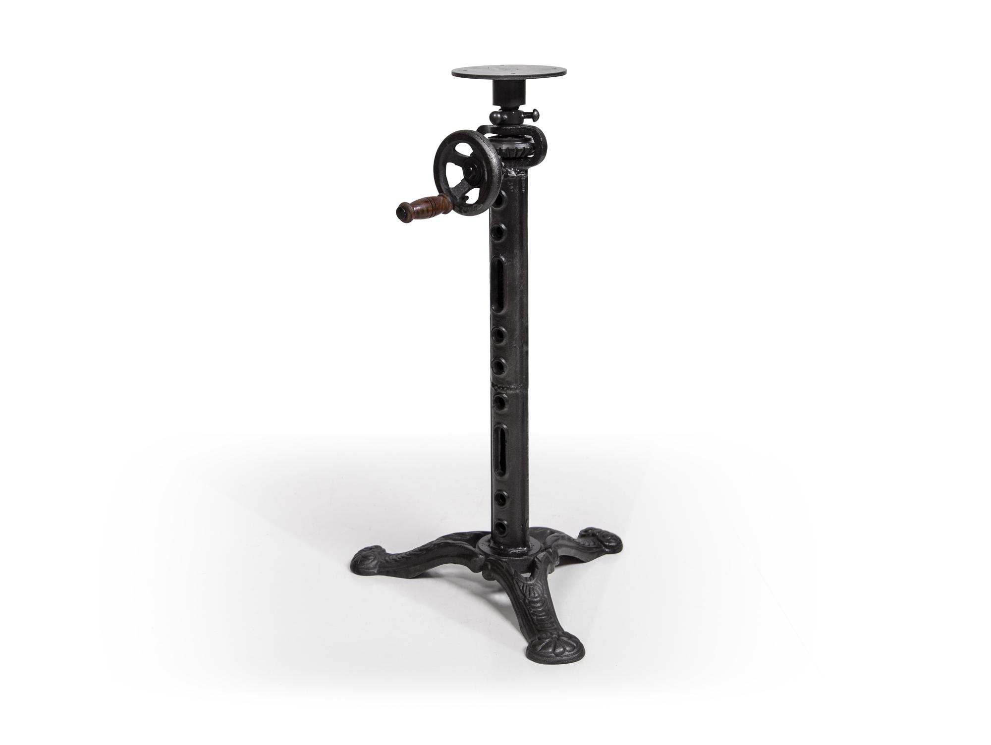 gestell f r esstisch tischgestell stahl schwarz 43 cm h henverstellbar wien 4251215232915 ebay. Black Bedroom Furniture Sets. Home Design Ideas