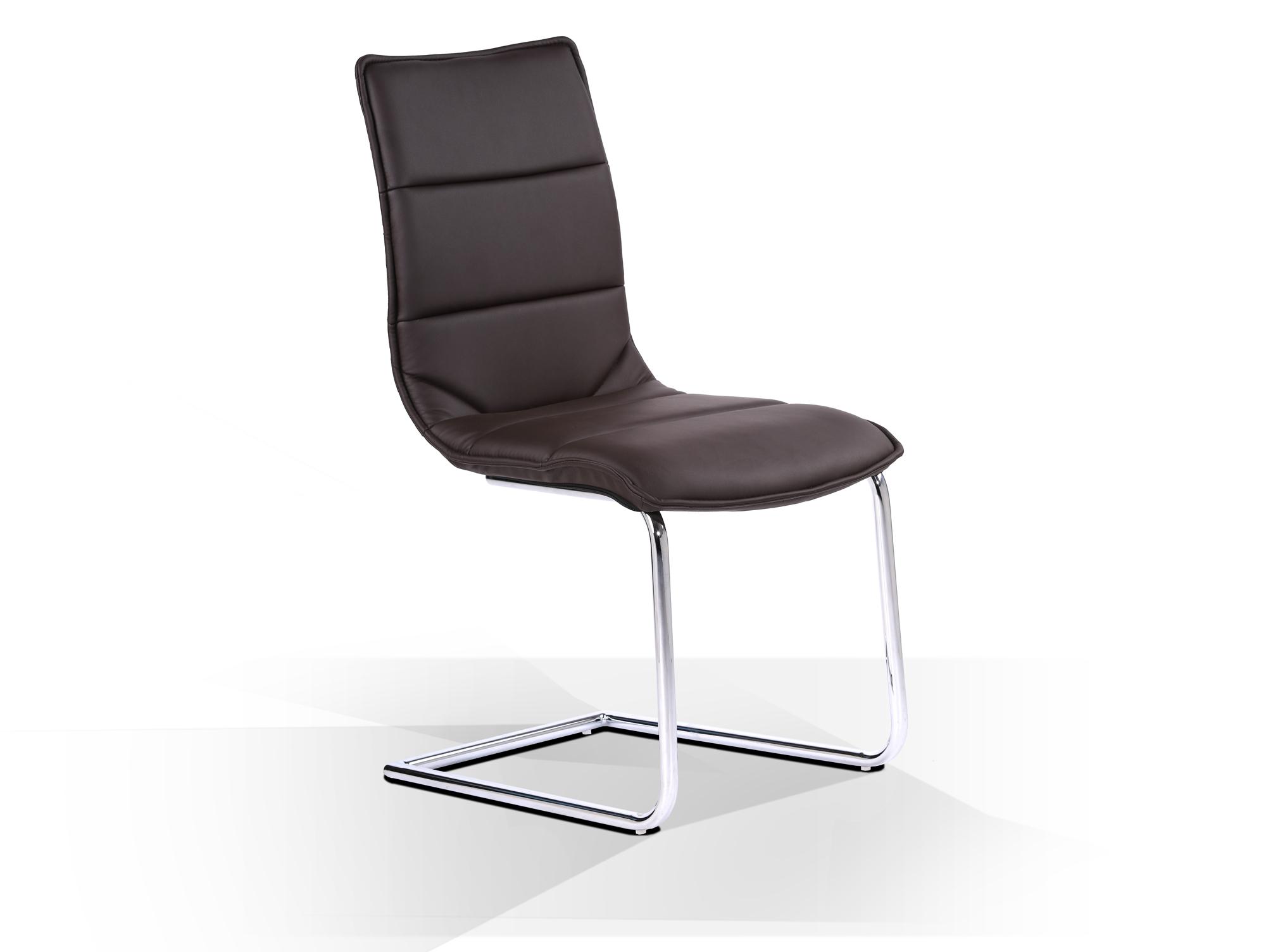 Esszimmerstuhl stuhl freischwinger schwingstuhl milano for Design stuhl milano echtleder