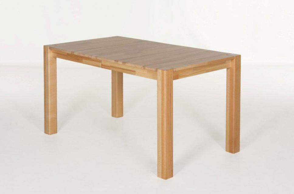grace massivholztisch esstisch tisch kernbuche lackiert 140x80 ausziehbar 220x80 ebay. Black Bedroom Furniture Sets. Home Design Ideas