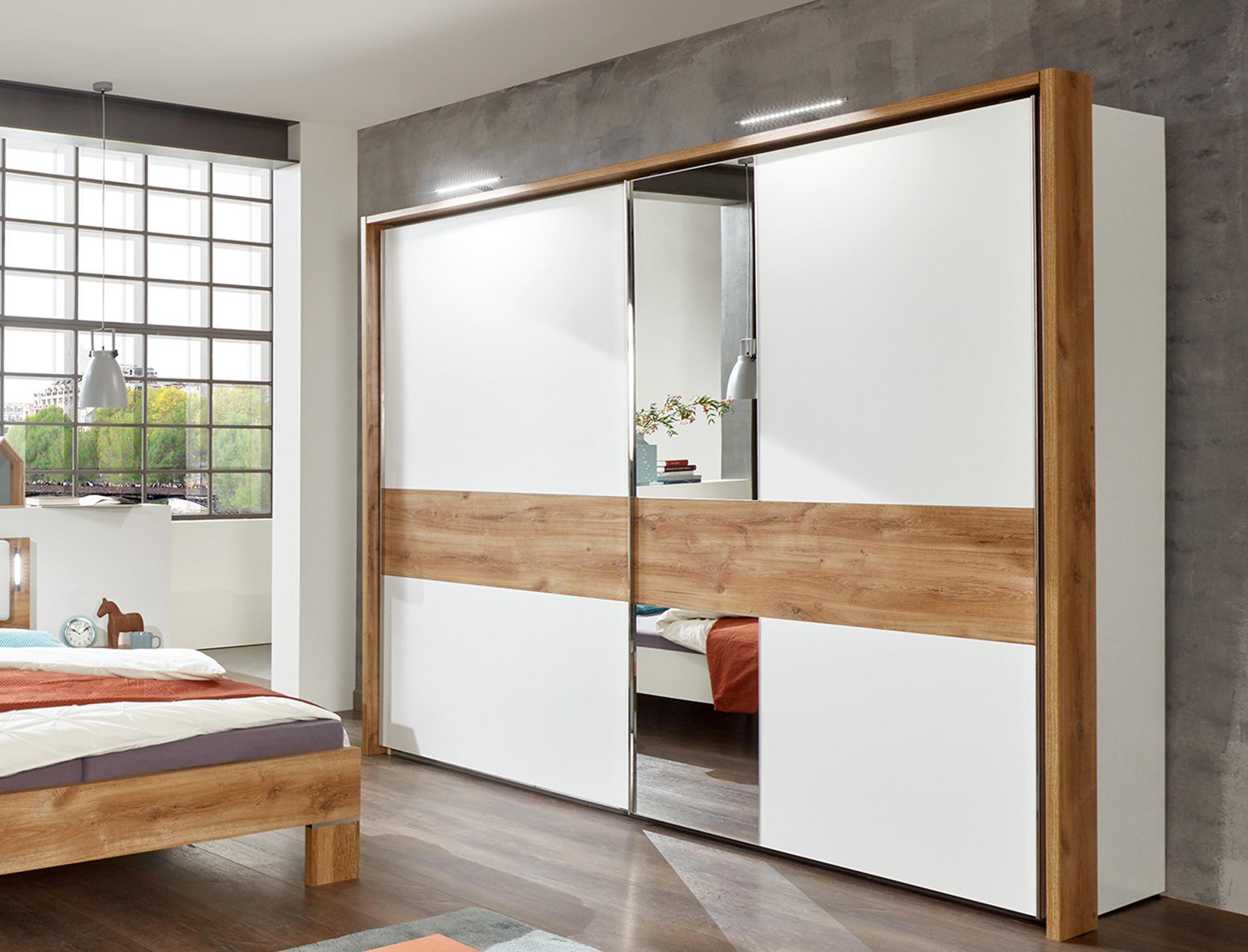 Schwebetürenschrank B250 cm CASY Schlafzimmer ...