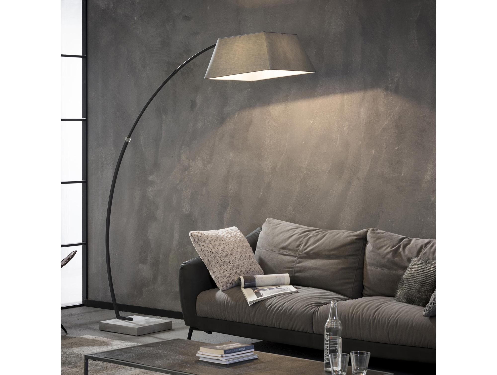 Großartig HANNO Stehlampe/Bogenlampe | Grau